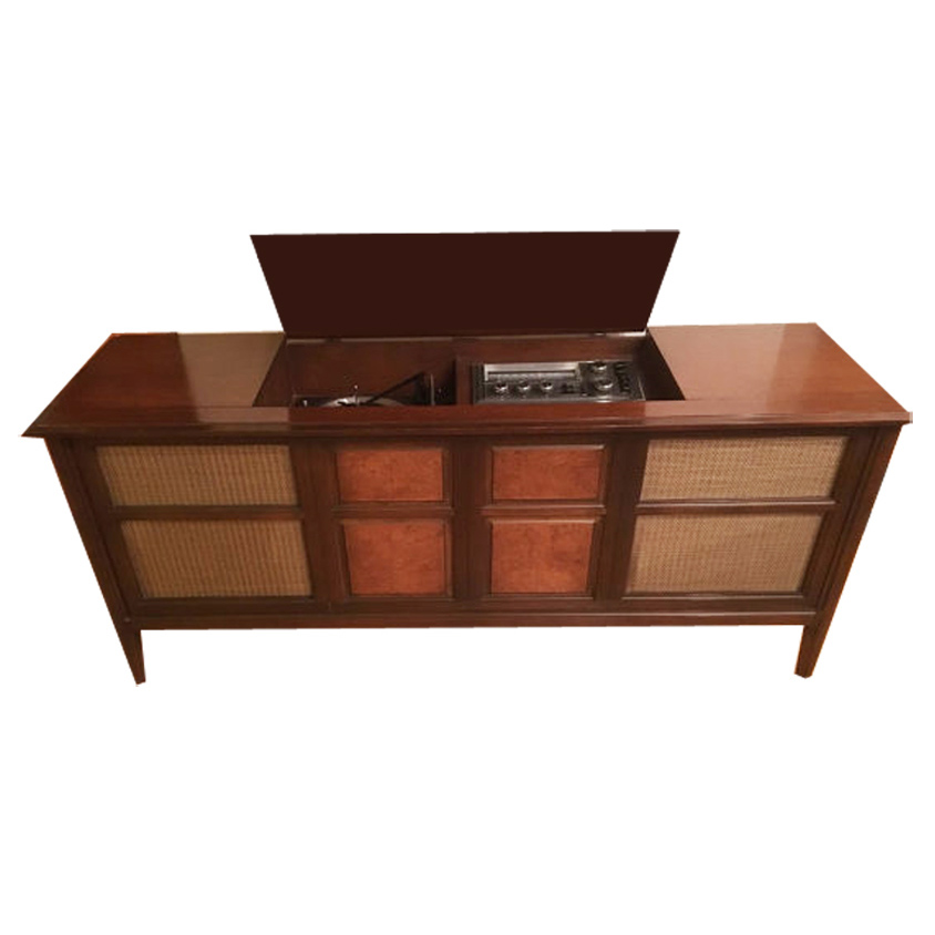 Retro radio vintage stereo consoles with modern components - Moderne consoles ...