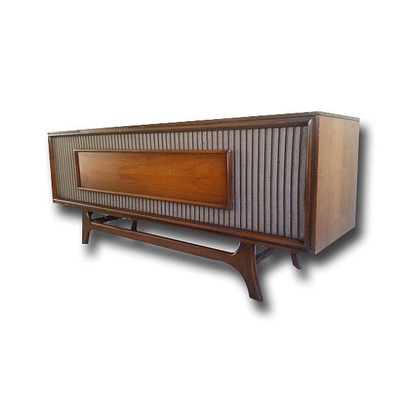 Sold Out GE Mid Century Modern Turntable Stereo Consol
