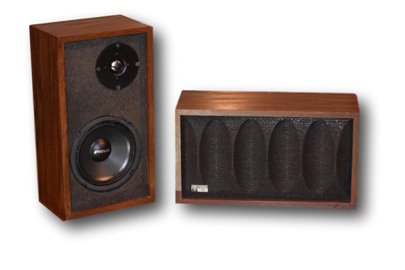 The Fisher MCM Vintage Bluetooth Speakers