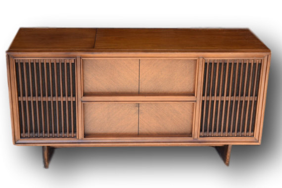 Vintage RCA Stereo Console- A Mid Century Modern Masterpiece