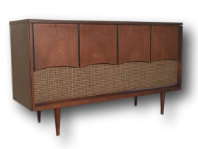 Electrahome Antique Stereo Console